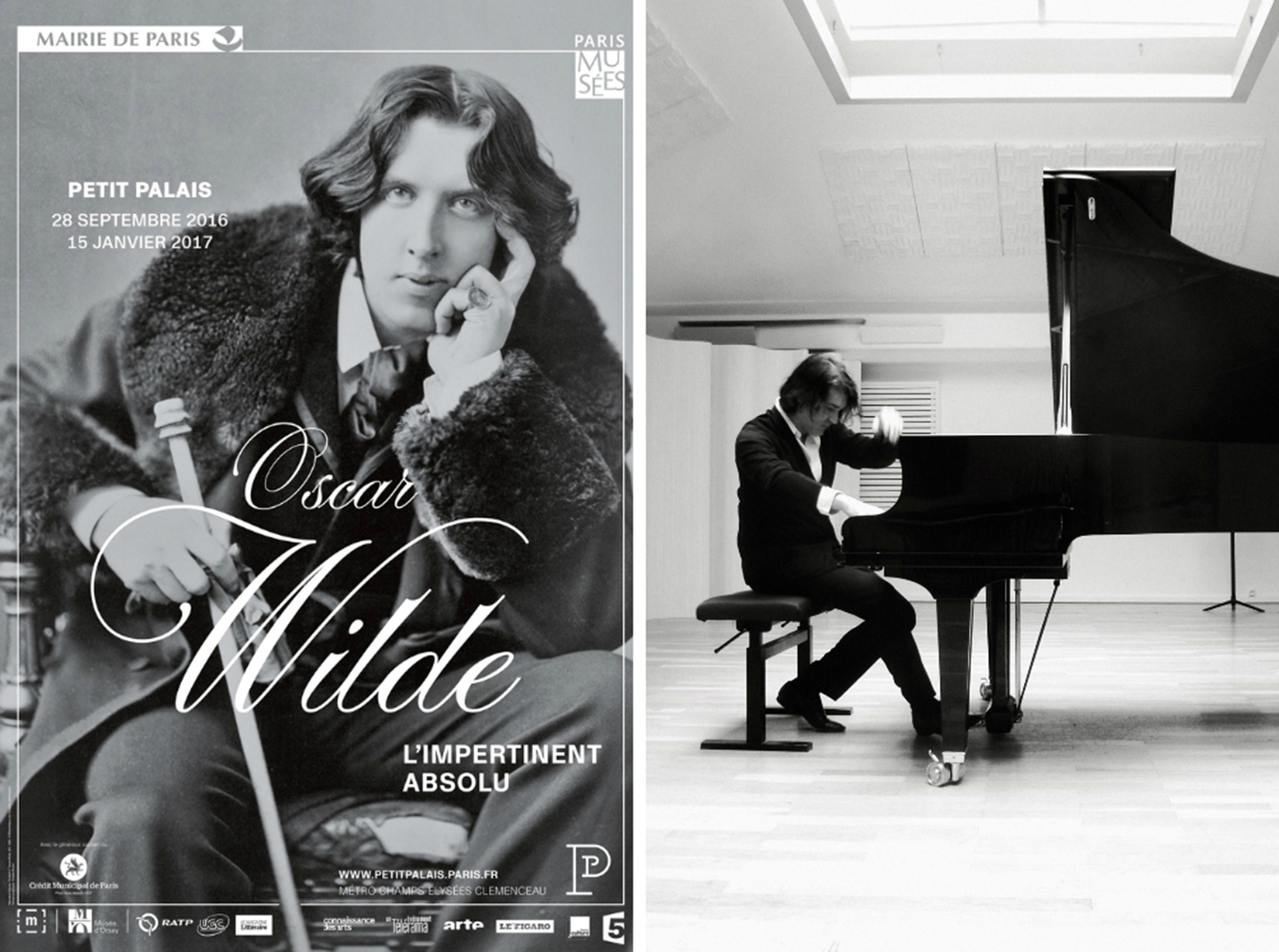 Oscar Wilde L'impertinant absolu at Petit Palais & Maxence Cyrin