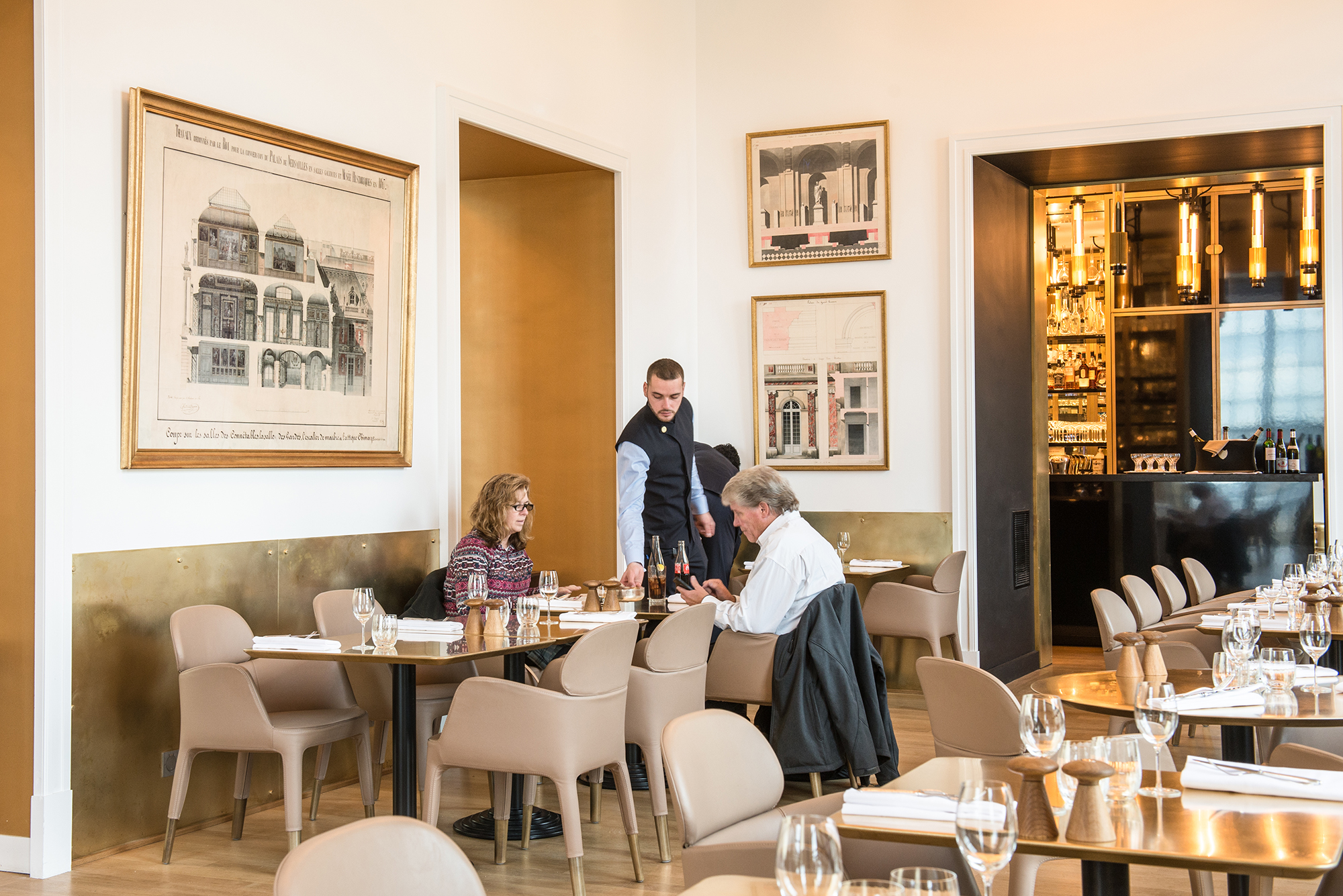 Ore by Alain Ducasse at the Palace of Versailles