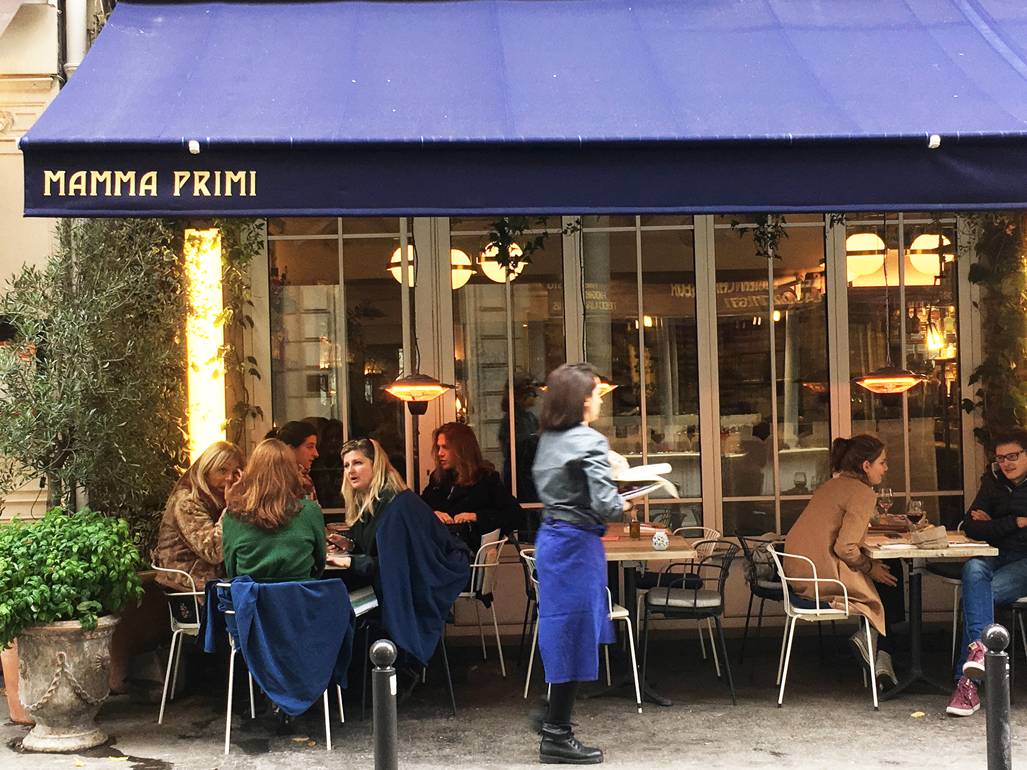 Mamma Primi, New Italian Dining from the Big Mamma Group, in the Batignolles District of Paris
