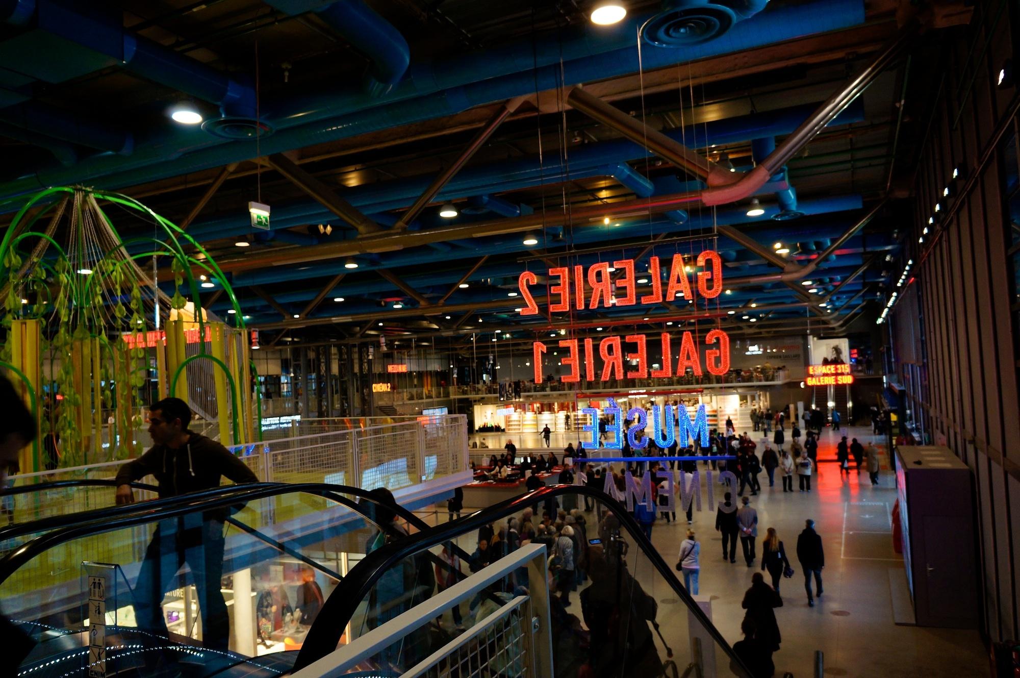 HiP Paris Blog: Centre Pompidou