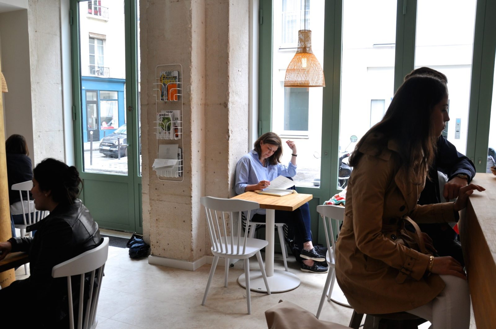 HiP Paris Blog checks out Cafe Mericourt, Cafe Oberkampf's brother cafe.