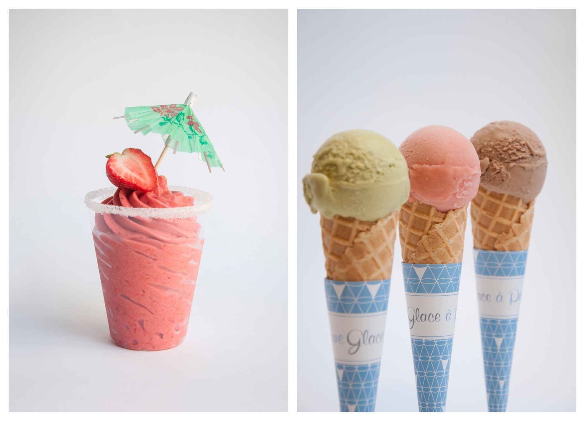 If Une Glace à Paris is a sign of things to come, imaginative ice cream is the next big thing in the world of pastry, and what better place than Paris to indulge in a stroll-around-the-city friendly cone?