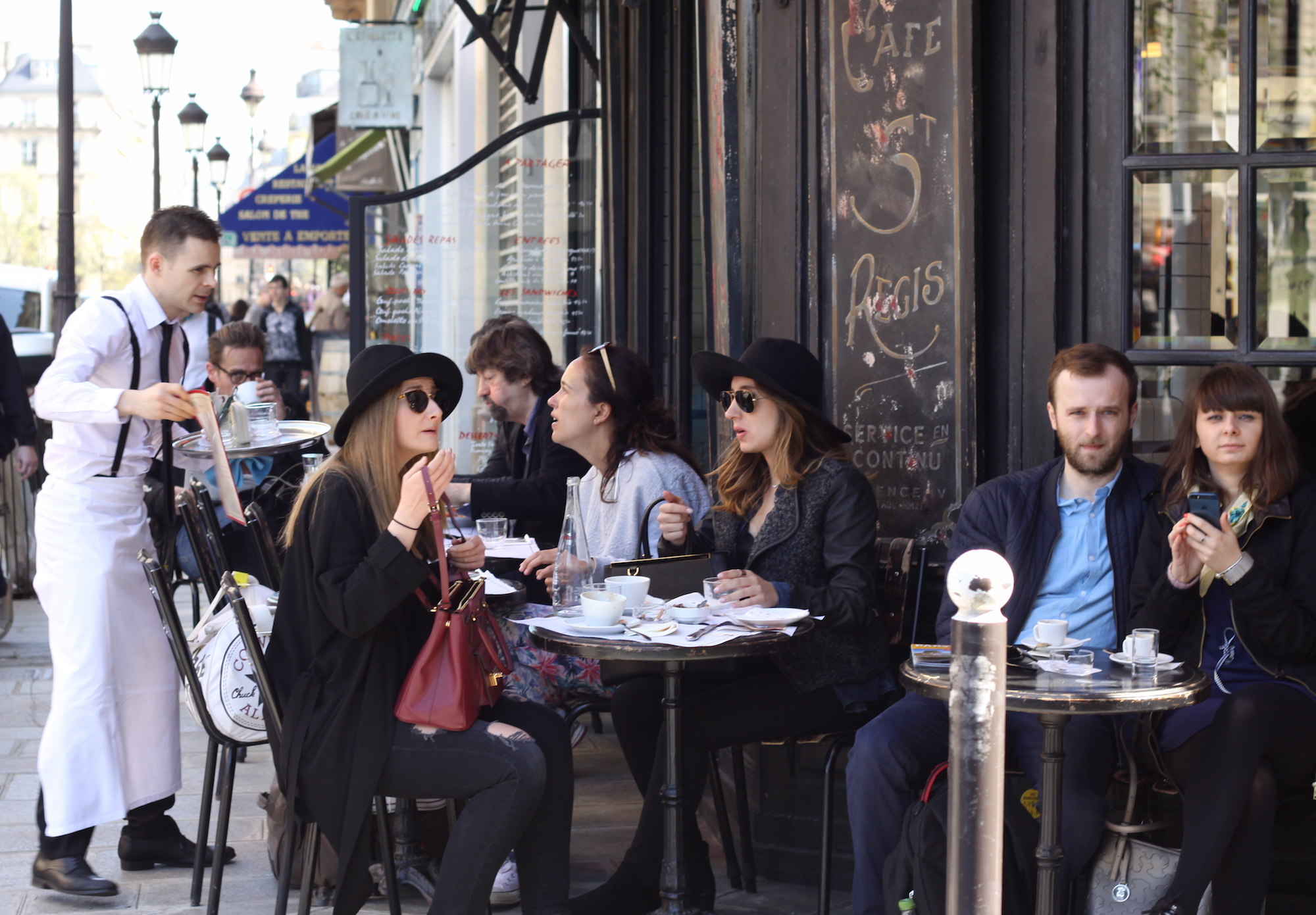 Paris coffee culture is all about sitting out on a terrace and watching the world go by.