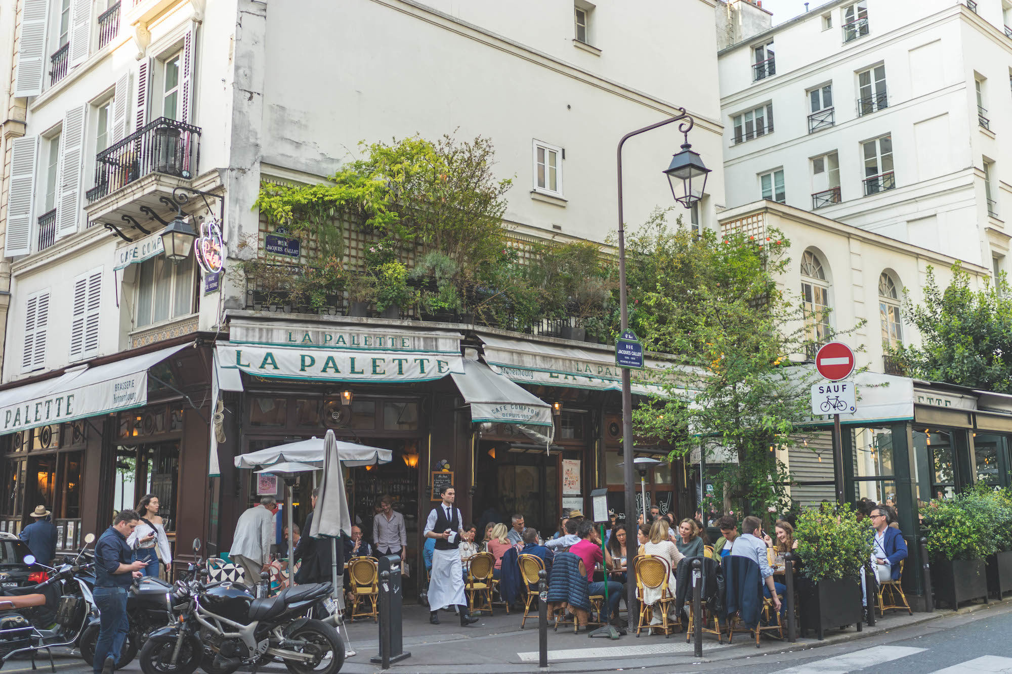There are lots of reasons to visit Paris a second time, like the tons of charming bistros to try and lively terrace culture in summer.