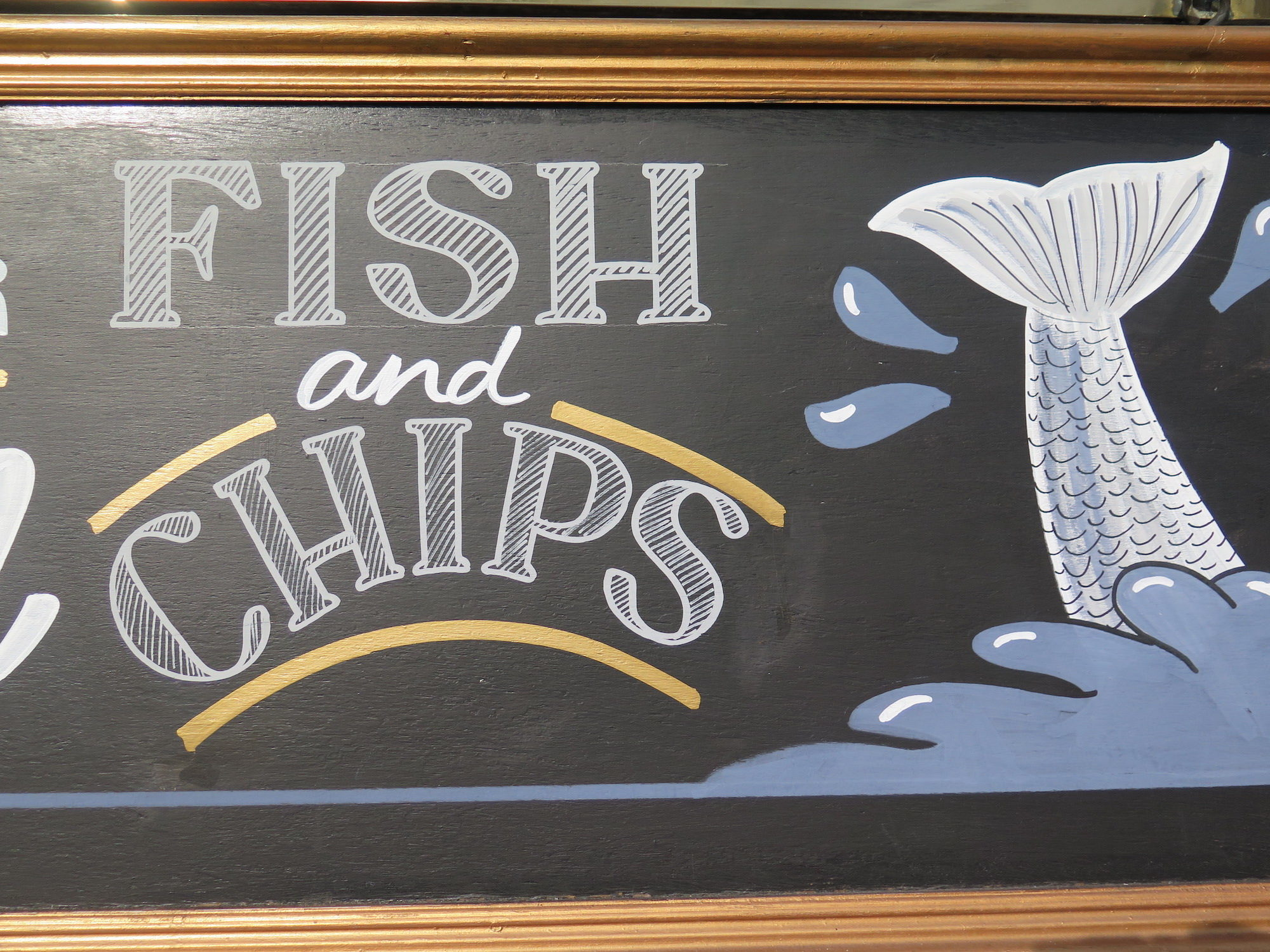 When in London, one must try fish and chips, one of the national dishes of England.