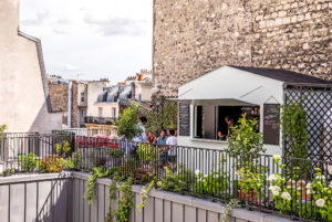 The Shed is one of the best Paris rooftop Paris for summer cocktails for its views and its pretty plant-adorned terrace.