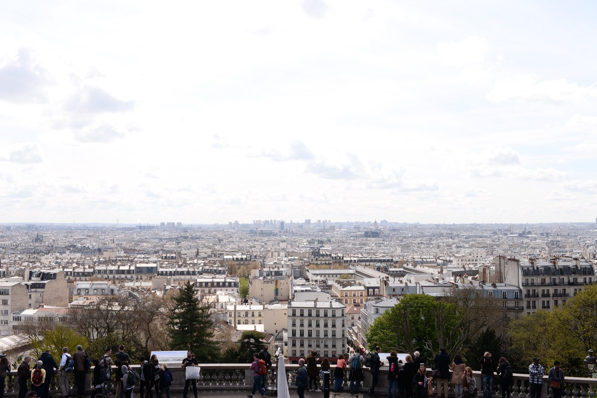 When you visit Paris for the first time, you have to visit Montmartre and see the views of the Paris rooftops from the Sacré Coeur Basilica.