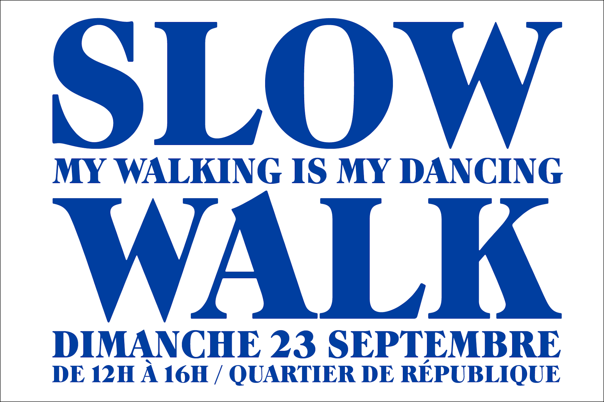 HiP Paris Blog rounds up what's on this September including music and dancing events all over the city like 'Slow Walk' in République.