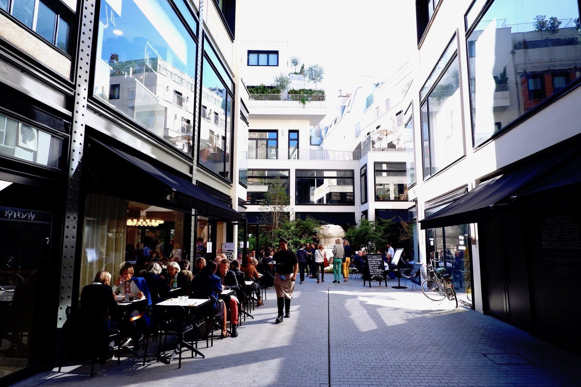 For French food and art in Paris, go to new hotspot Beaupassage in Saint-Germain-des-Près.