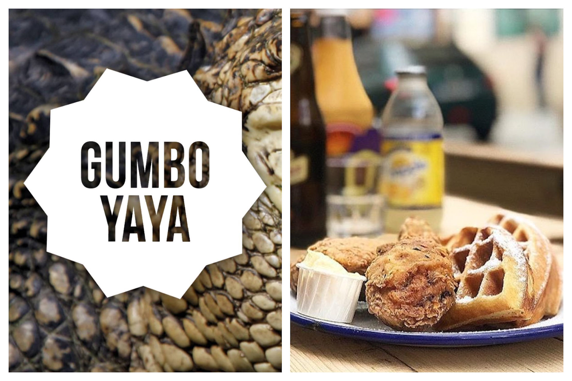 HiP Paris blog's favorite Paris restaurant for American comfort food is Gumbo Yaya for the fried chicken and waffles.