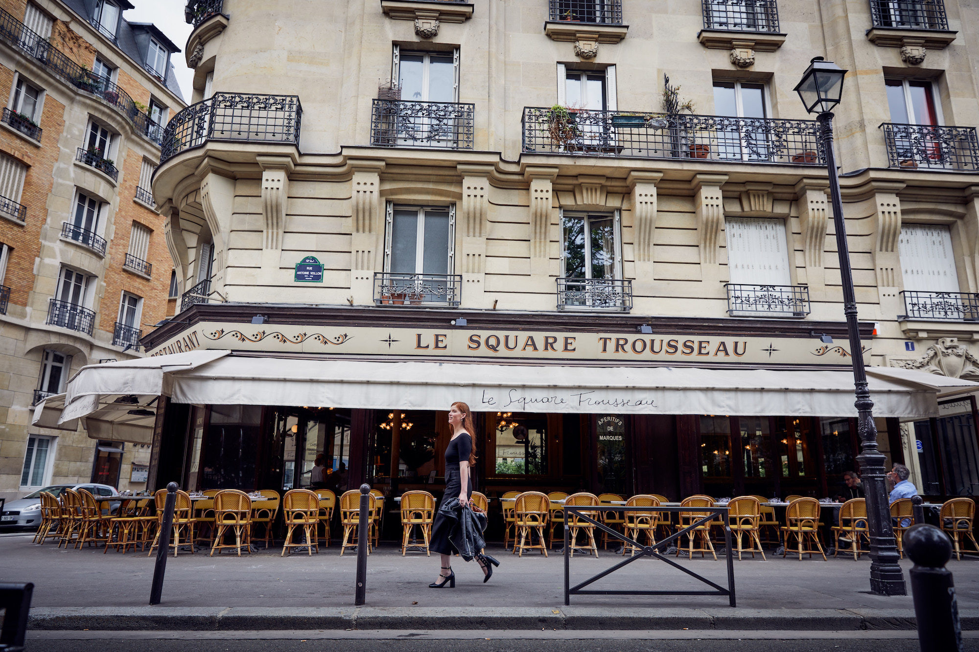 Living in Paris is about enjoying the quaint bistros in each neighborhood.