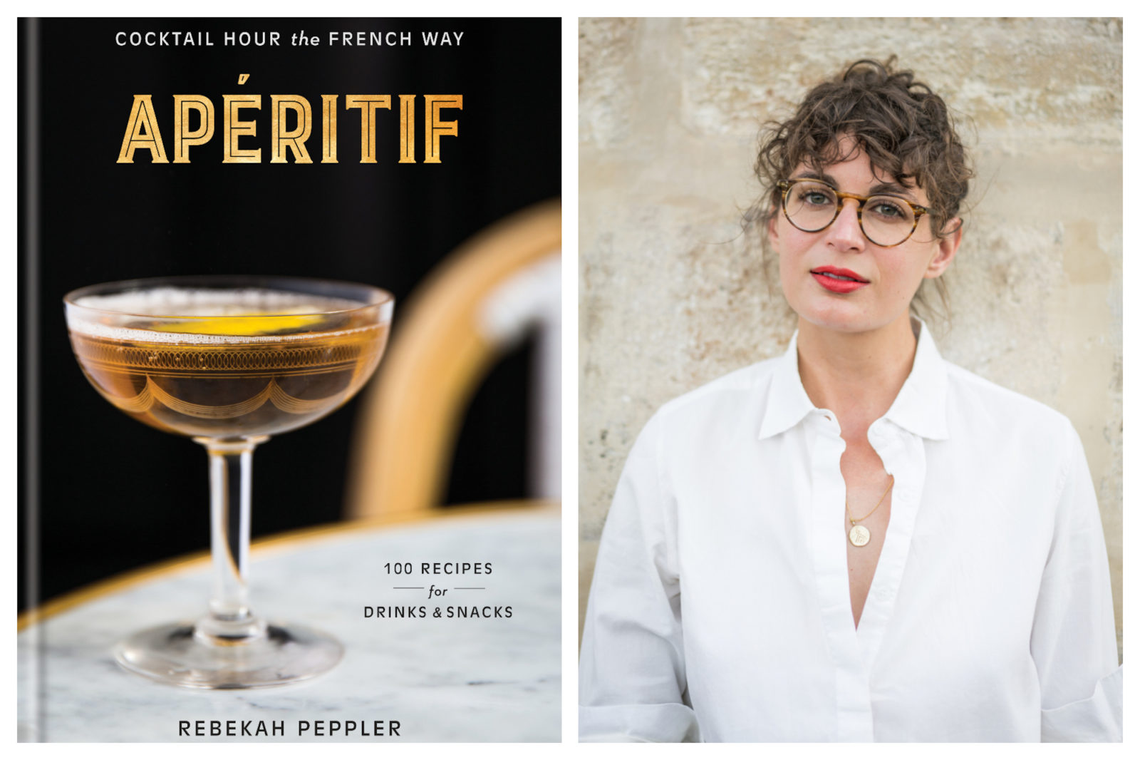 How to make cocktails the French way in author Rebekah Peppler's 'Aperitif' Book