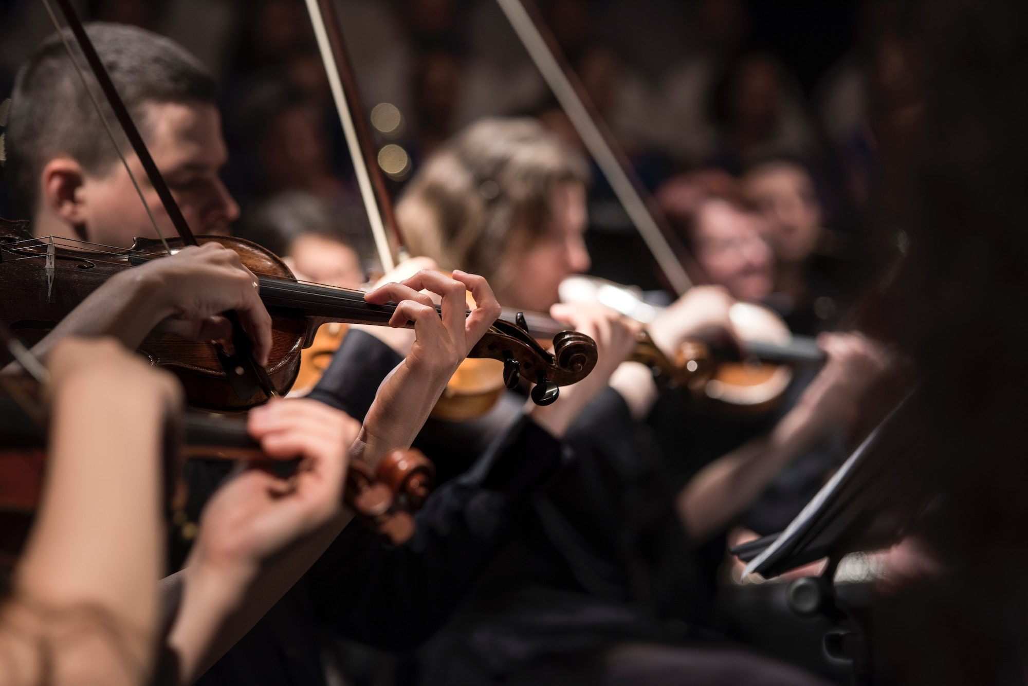 Top January events in Paris include seeing Vivaldi's 'Four Seasons' at the Madeleine Church, where the orchestra is made up of various talented musicians, including violinists.
