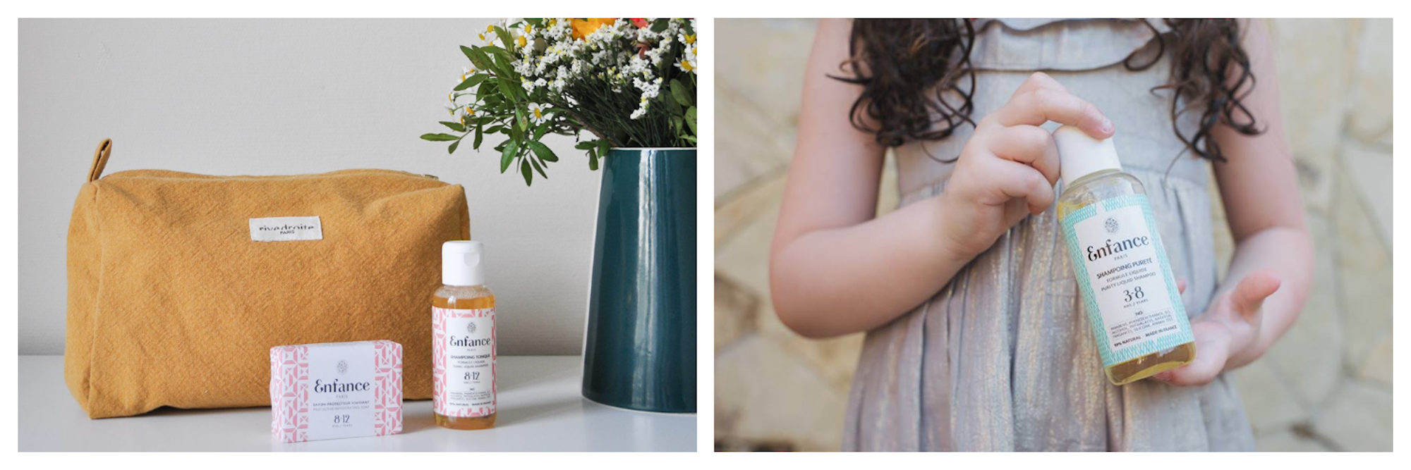 Enfance is one of our favorite French beauty brands for its organic, family-friendly, made-in-France products.