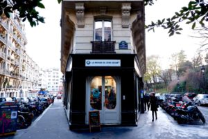 Maison du Zero Dechet facade, Paris