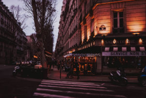 Winter in Paris is chilly, but the ambiance always lovely