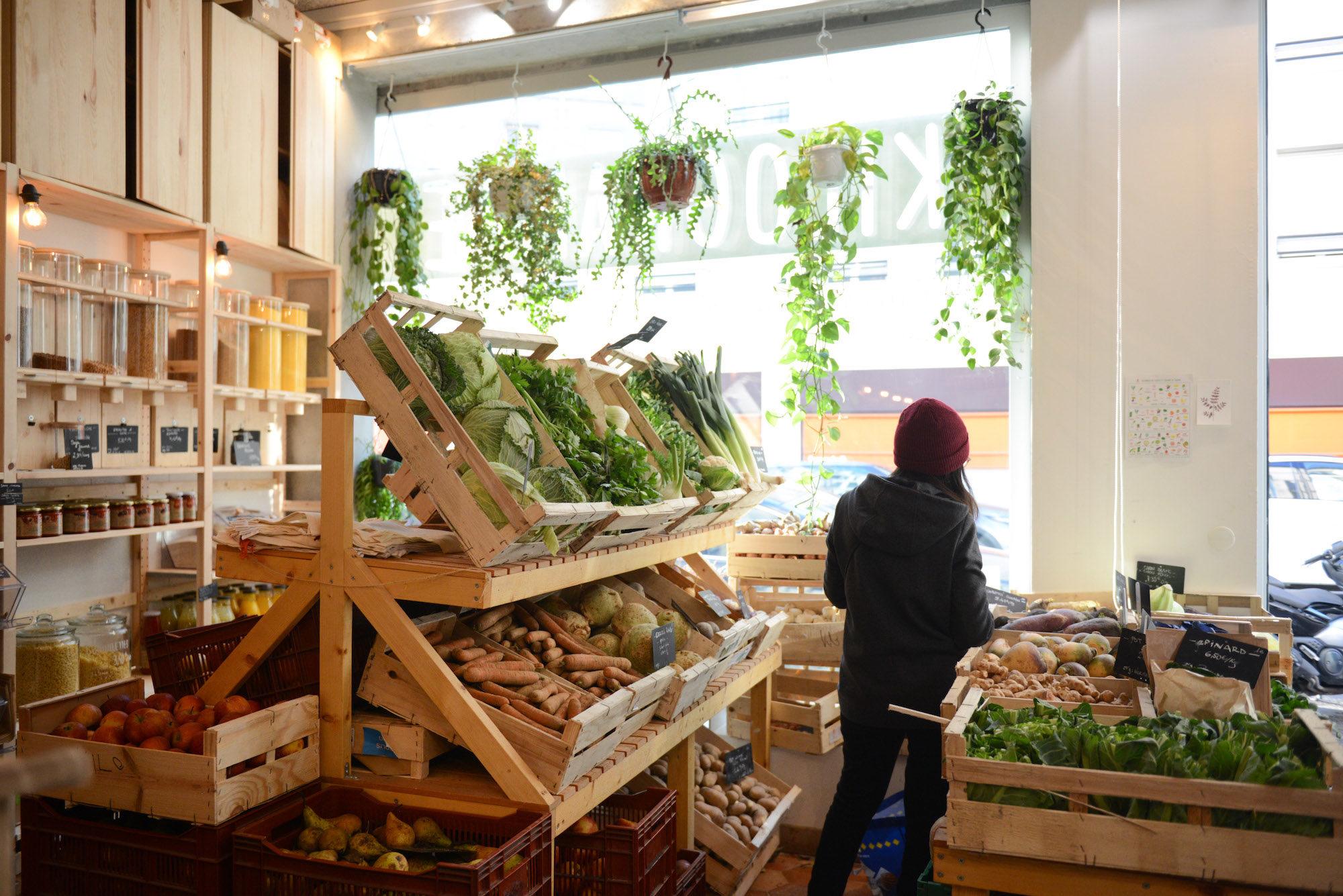 Epicerie Kilogramme Paris - Bulk Food Supermarket Shopping takes off