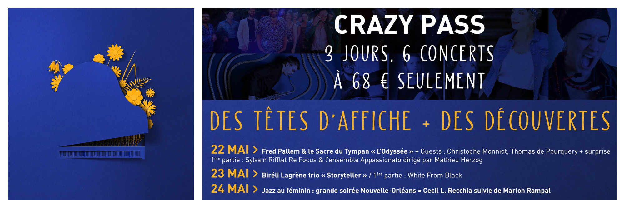 The Crazy Pass allows you to see some of the best concerts in Paris.