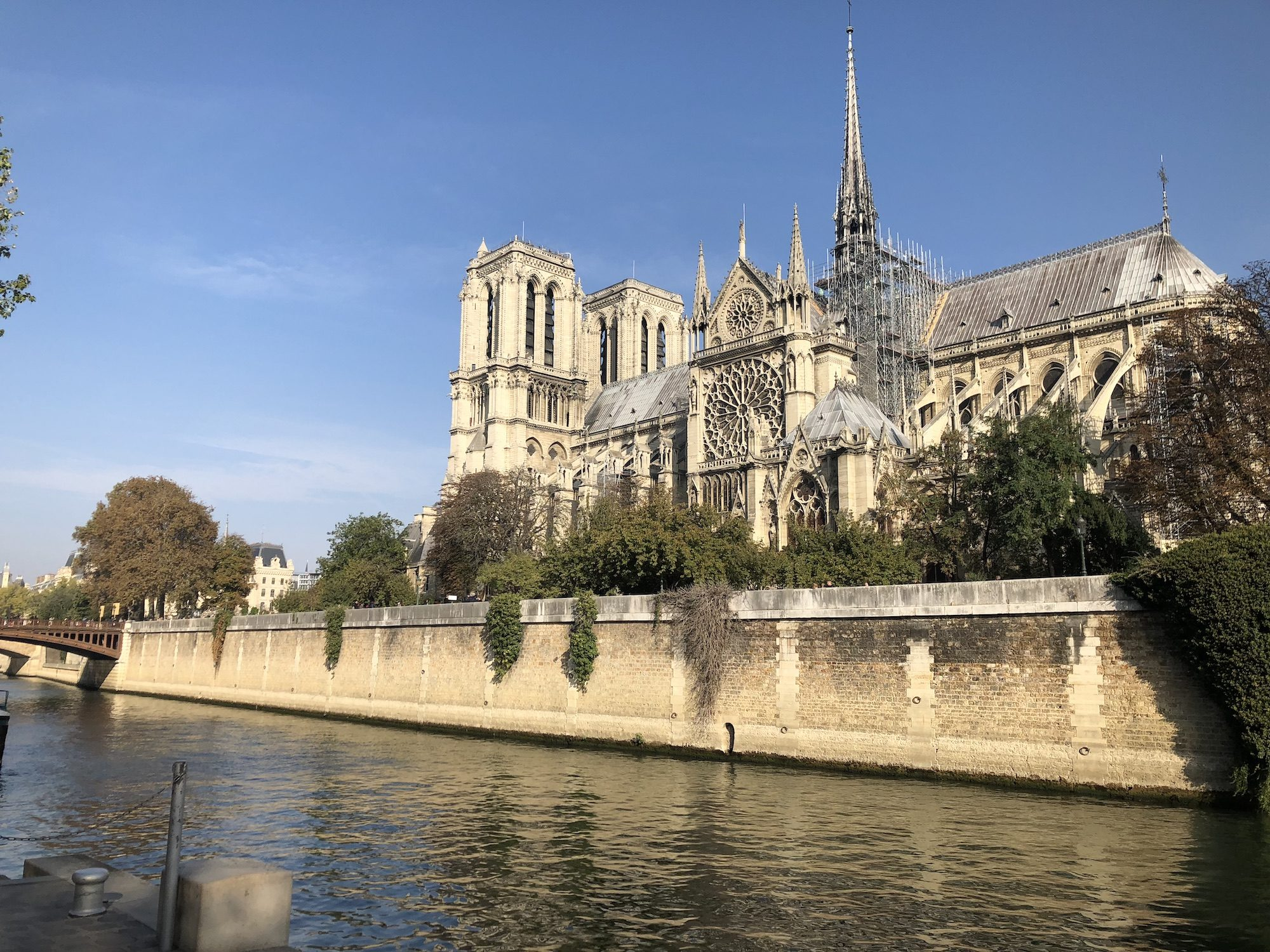 Notre Dame Cathedral burns in Paris