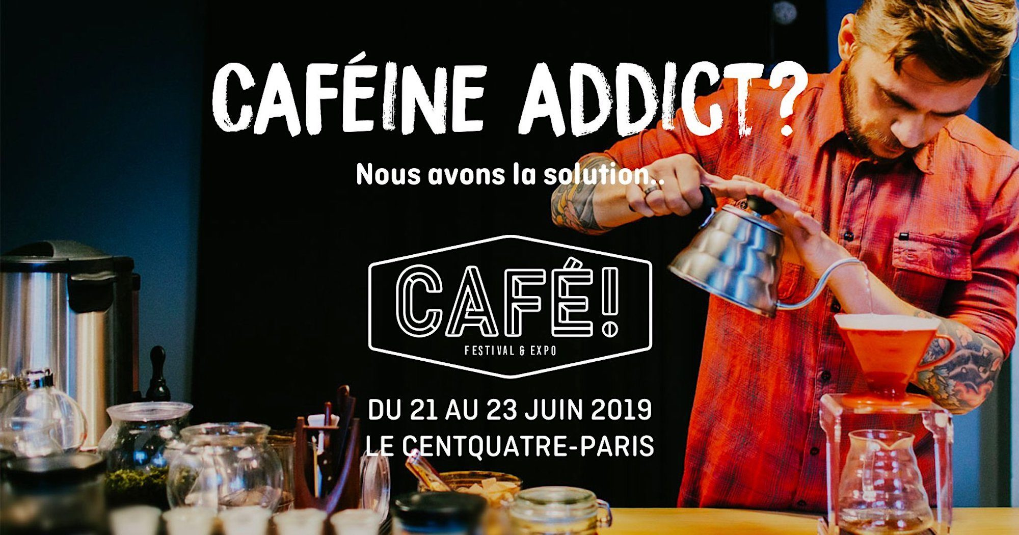 The Coffee festival in Paris this June is one of the top events this month for coffee-lovers.