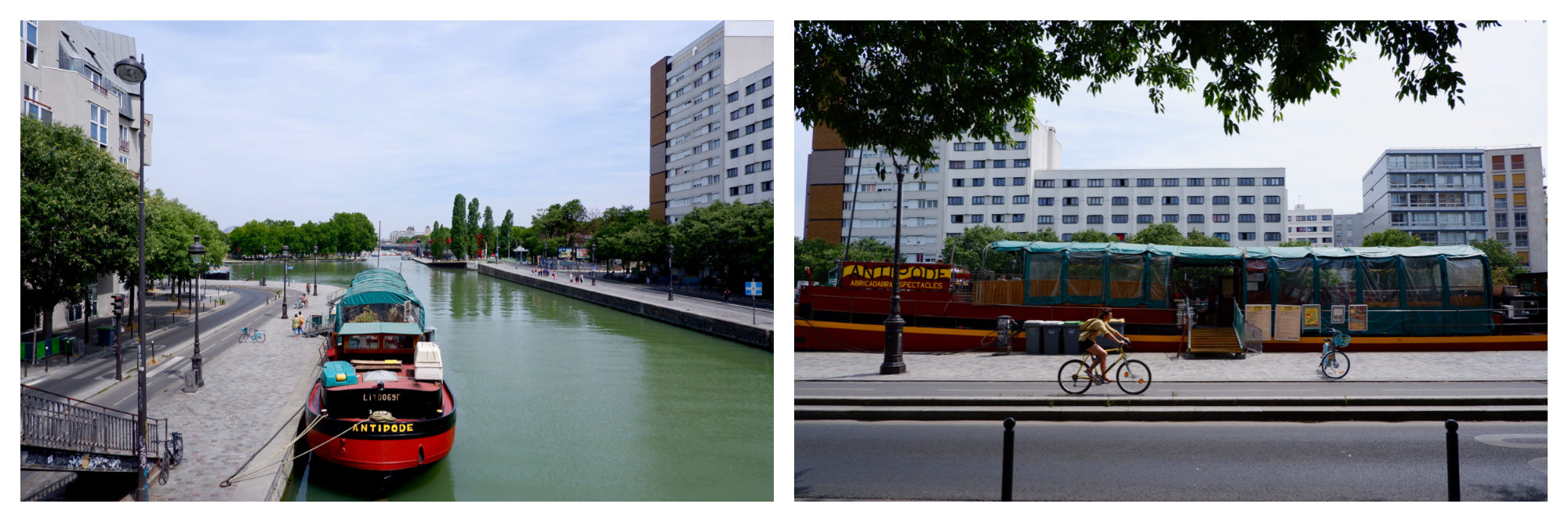 You will also find a number of barges with bars, theatres, clubs and even a bookshop on the canal.