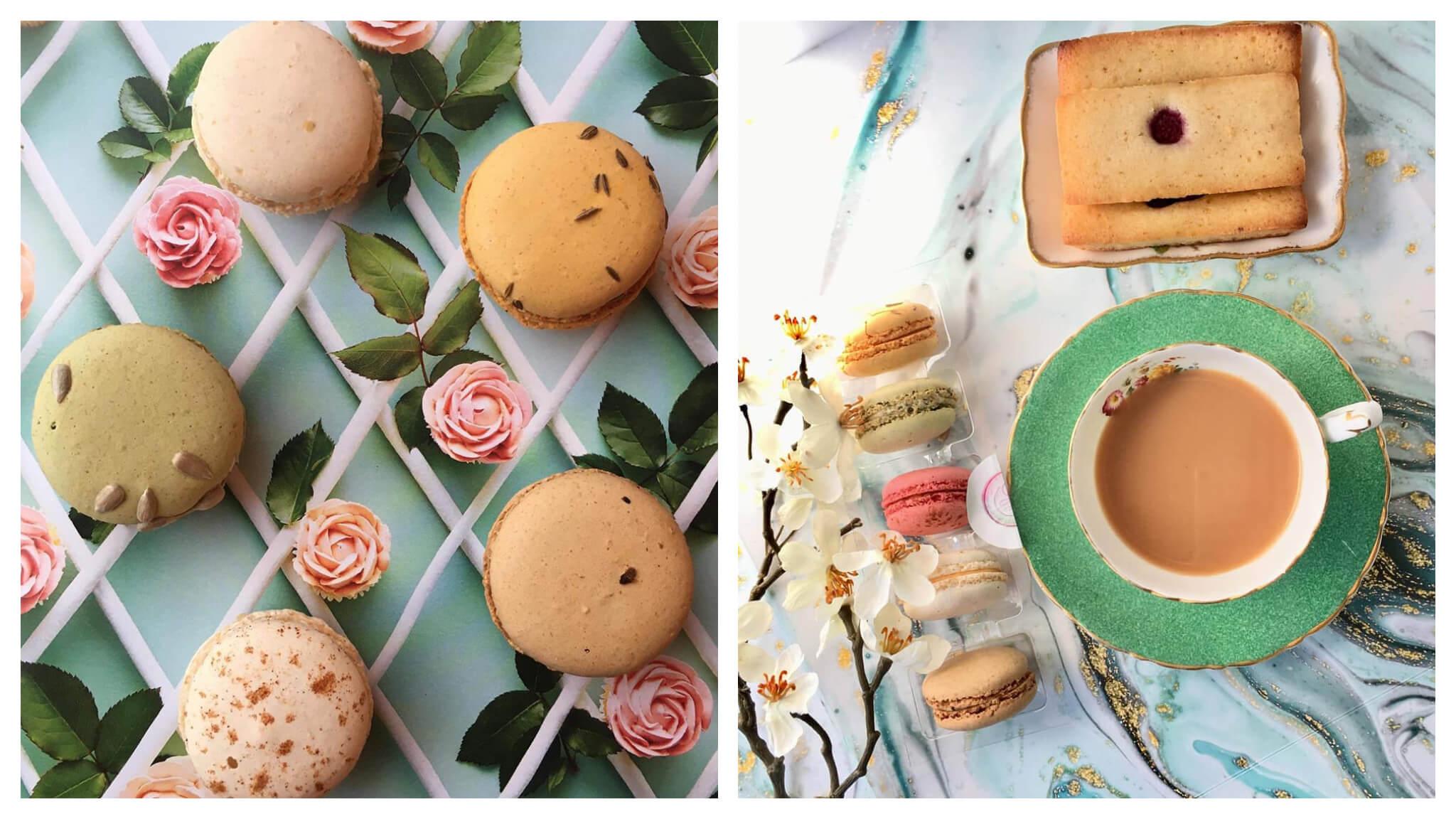 RepChamp's gourmet macarons