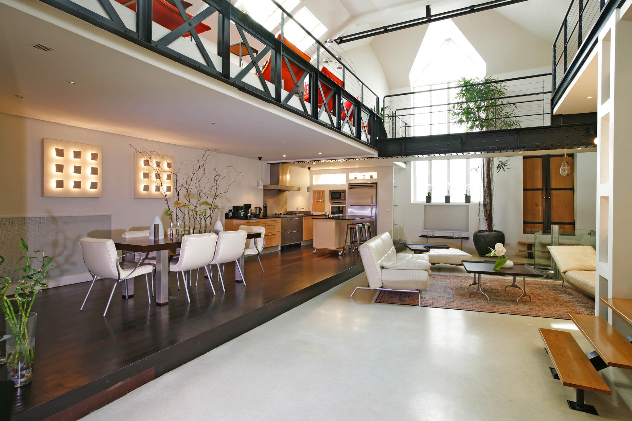 Paris Luxury Apartment Rental Luxury Designer Loft Haven In - Beautifully designed loft apartments seattle perfect