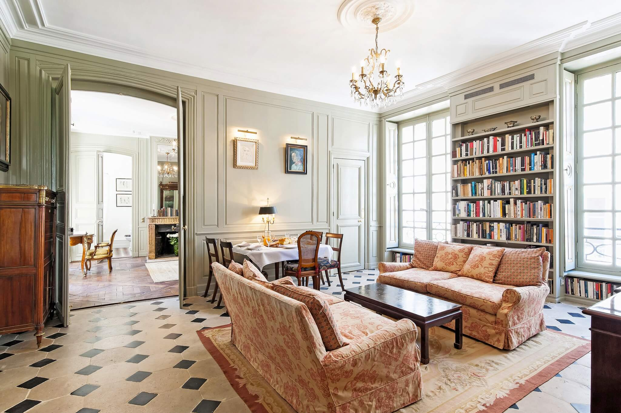 Paris Luxury Apartment Rental Luxembourg Gardens