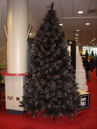 Rent Christmas Decorations.Black Christmas Tree For Hire Rent Or Rental In City