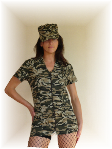 ARMY GIRL COSTUME  sc 1 st  Hire Things & ARMY GIRL COSTUME for hire rent or rental in Burswood  Manukau ...