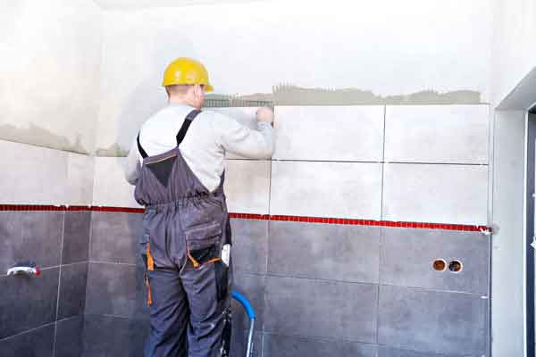 bathroom tile contractors