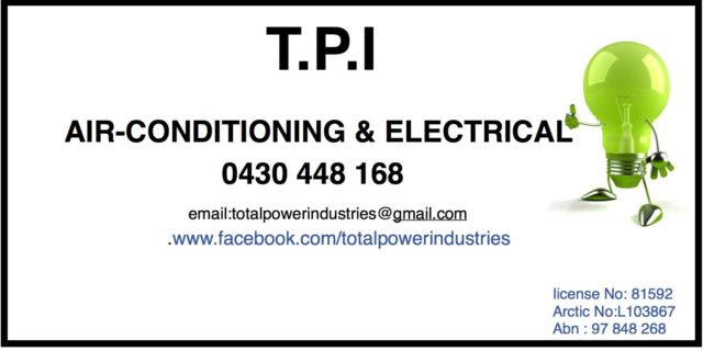 Tpi airconditioning and electrical