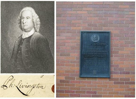 philip-livingston-plaque-and-signature