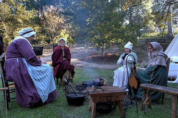 Colonial Times at Living History Park