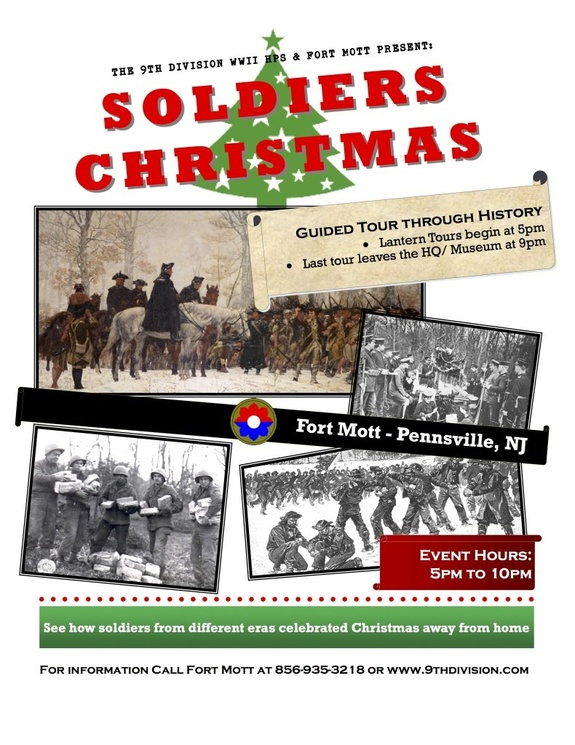 Christmas Events In Nj.Soldiers Christmas Pennsville New Jersey Events The