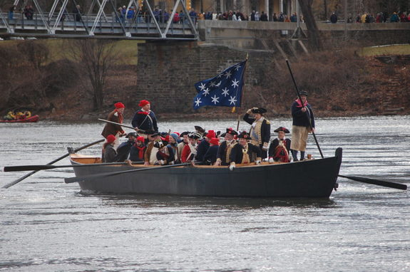 First Crossing Reenactment - Washington Crossing, PA