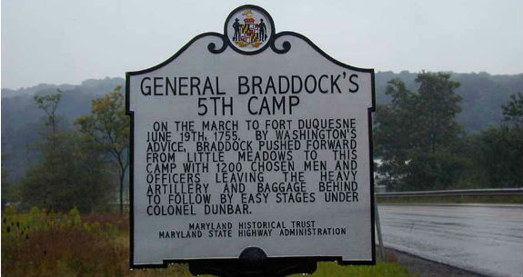 General Braddock's Fifth Camp