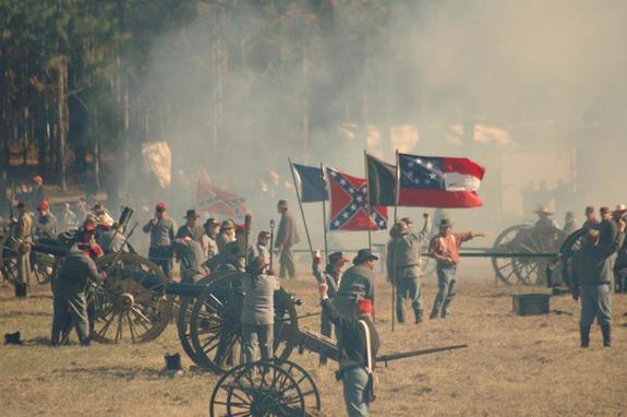 Brooksville Raid Reenactment