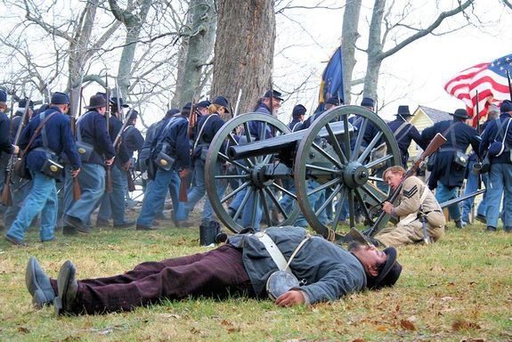 Battle of Prairie Grove Reenactment