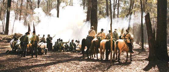 17th Annual Reenactment and 153rd Anniversary of the Battle for Broxton Bridge