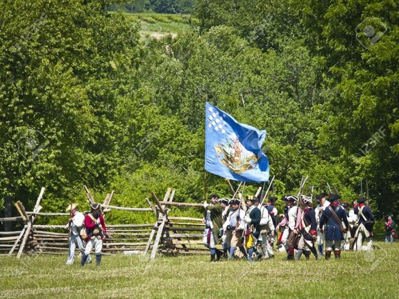 Annual Reenactment of the Battle of Monmouth