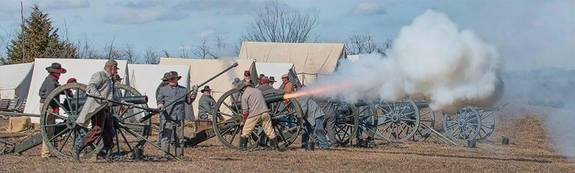 2018 Battle of Round Mountain Reenactment
