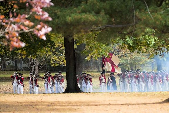 Assault on Fort Mercer Reenactment