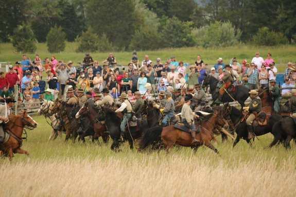154th Anniversary Battle of New Market Reenactment