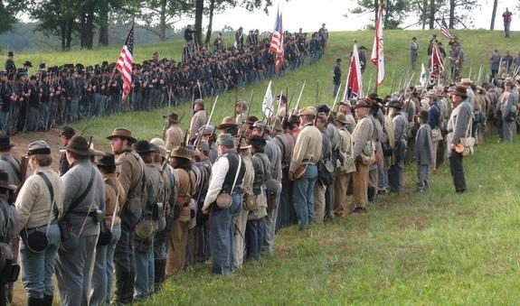 The 154th Anniversary ofBattle of Resaca Civil War Reenactment