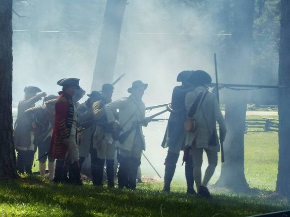 Fight for the Backcountry: Battle of Alamance Reenactment\