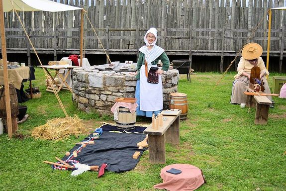 fort-loudon-colonial-trade-fair
