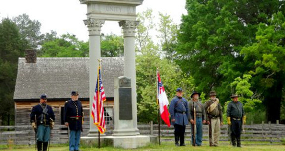 Memorial Day Remembrance at Bennett Place State Historic Site