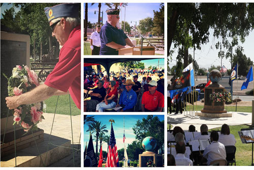 Memorial Day Service at Gilbert Historical Museum