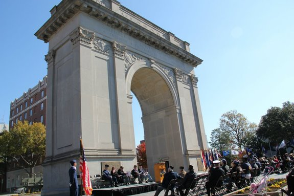 Memorial Day Celebration at Victory Arch